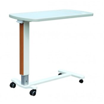OVER BED TABLE ABS TOP / GAS SPRING LIFT