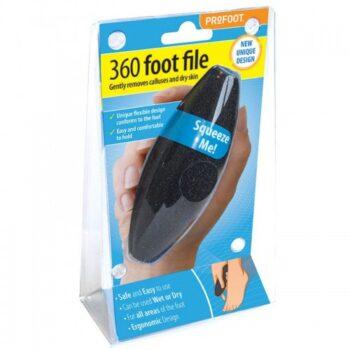PROFOOT 360 FOOT FILE ( BLACK )
