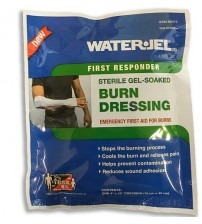 "WATER GEL BURN DRESSING 4"" X 16"" ( 10CM X 40CM ) USA"