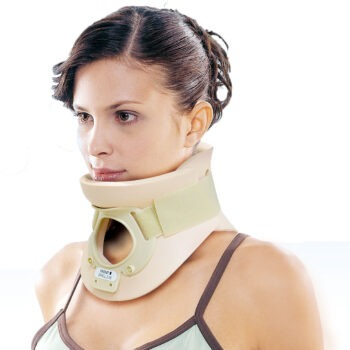 5108 CERVICAL COLLAR WITH TRACHEA OPENING  4 ¼""