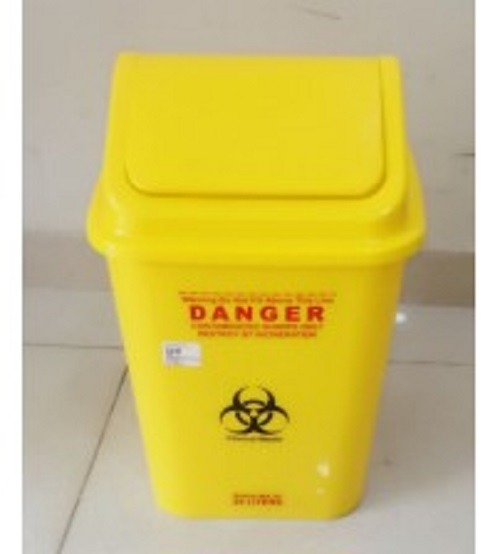 BIOHAZARD WASTE BIN 25LTR CHINA