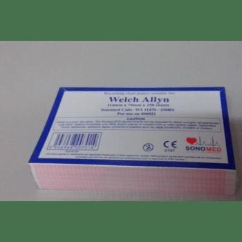 ECG PAPER WELCH ALLYN CP-50 ( 114mm x 140mm x 250mm )