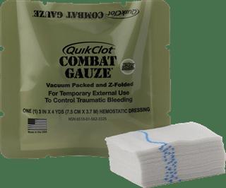 QuikClot Combat Gauze®