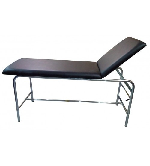 EXAMINATION COUCH - CHROMED STEEL