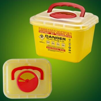 SHARP CONTAINER YELLOW 6 LTR CHINA