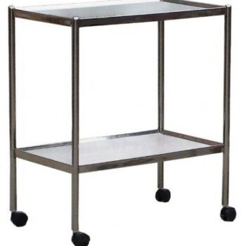 INSTRUMENT TROLLEY STAINLESS STEEL