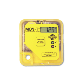 DATA LOGGER MON-T2 WITH LCD DISPLAY TEMPRECORD NEW ZEALAND
