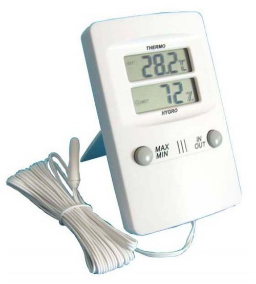 THERMO HYGROMETER - IN/OUT TH-02