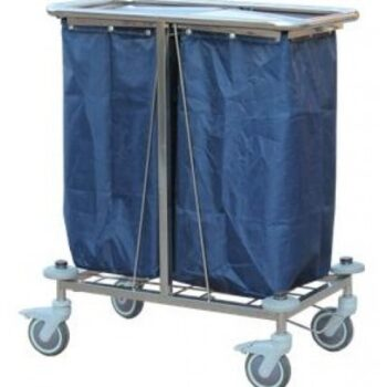 WASTE CARRIAGE TROLLEY