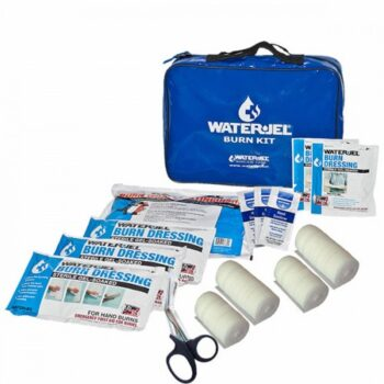WATER GEL AMBULANCE BURN KIT FIRST RESPONDER USA