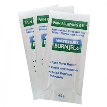 WATER GEL BURN JEL 3 X 4.0G SACHETS FIRST RESPONDER USA