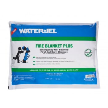 "WATER GEL FIRE BLANKET PLUS POUCH 5"" X 6 "" ( 183 X 152CM ) USA"