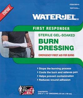 WATER-JEL BURN DRESSING - 4'' x 16'' (10 X 40 CM )