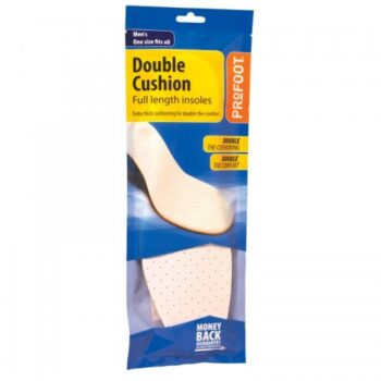 PROFOOT DOUBLE CUSHION INSOLE MENS