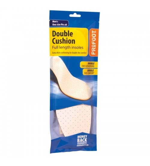 PROFOOT DOUBLE CUSHION INSOLE MENS - Women