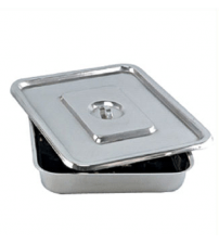 INSTRUMENTS TRAY STAINLESS STEEL 10 X 12