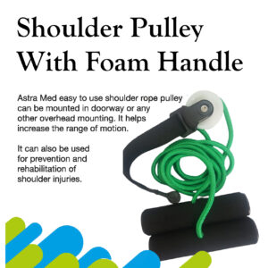 shulder pulley with foam handle
